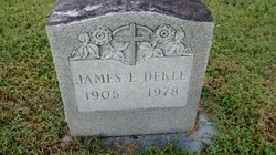 James E Dekle