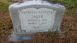 Floreita <I>Belcher</I> Smith