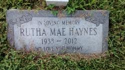 Rutha Mae Haynes