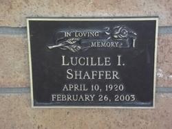 Lucille I. <I>Stucky</I> Shaffer