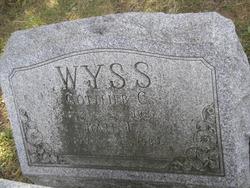 Gottlieb C Wyss