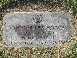 Johnnie Lee Hodges