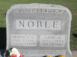 Sadie G Noble