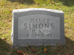 Jessie P Simons