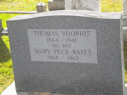 Mary Peck <I>Bates</I> Voorhis