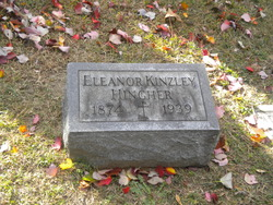 Eleanor <I>Kinzley</I> Hingher