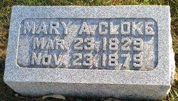 Mary Ann <I>Stupples</I> Cloke