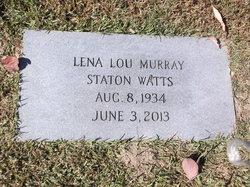 Lena Lou <I>Murray</I> Watts