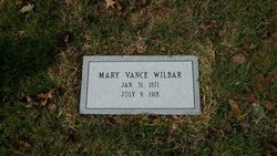 Mary Laura <I>Vance</I> Wilbar