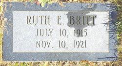Ruth E Britt