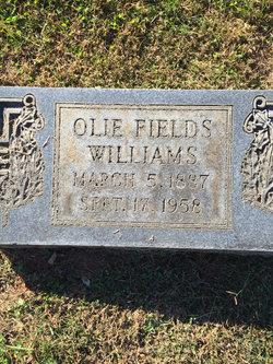 Olie Fields Williams