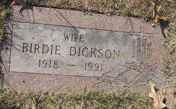 Birdie Dickson
