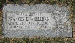 Frances K Whelehan