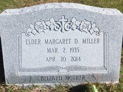 Elder Margaret D <I>Harris</I> Miller