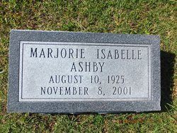 Marjorie Isabelle Ashby