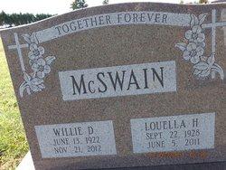 Willie D McSwain