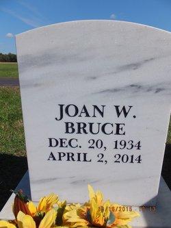 Joan W Bruce