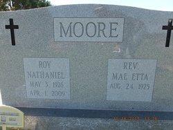 Rev Mae Etta Moore