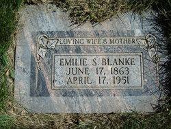 Emilie Dorothea <I>Schmidt</I> Blanke