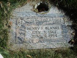 Heinrich Fredrick Blanke