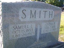 Lydia P. <I>Stovall</I> Smith