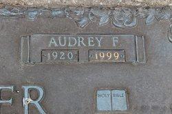 Audrey F <I>Klossing</I> Miller