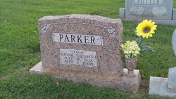 Mannie Elizabeth <I>Fisher</I> Parker