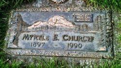 Myrtle E Church