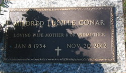 """Mildred Lucille """"Lucy"""" <I>Clark</I> Conar"""