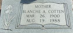 Blanche Amanda <I>Dibble</I> Cotten