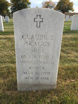 Claude E Skaggs