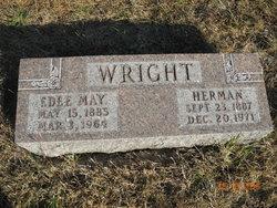 Edee May <I>Showalter</I> Wright