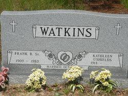 Kathleen <I>O'Shields</I> Watkins