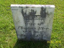 Mary <I>Wright</I> Allen