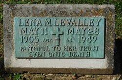 Lena M LeValley