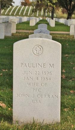 Pauline M Curran