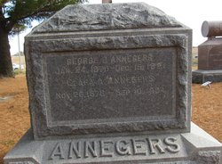 Clara Alice <I>Davis</I> Annegers
