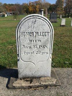 Homer M Leet