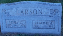 Clarice Madalyn <I>Olson</I> Larson