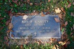Roy Paul Binkley