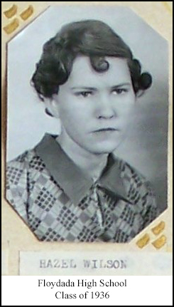 Hazel Ione <I>Wilson</I> Atkinson