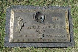 Estelle Ruth <I>Hanas</I> Dunn