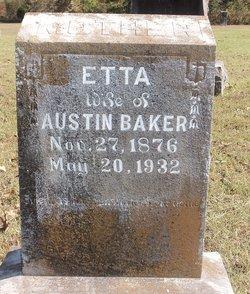 Etta <I>Stewart</I> Baker