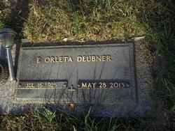 Elsie Orleta <I>Weaver</I> Deubner