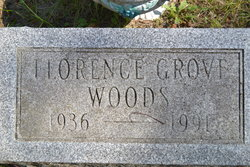 Florence Lucille <I>Grove</I> Woods