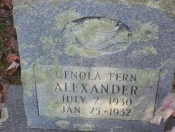 Genola Fern Alexander