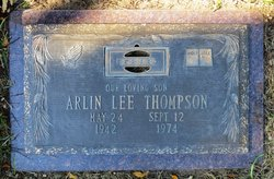 Arlin Lee Thompson