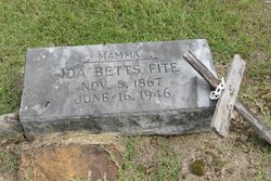 Ida <I>Betts</I> Fite