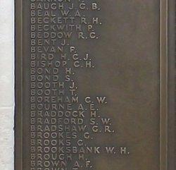 Stkr 1C William Henry Brooksbank