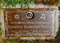 "Dorothy ""Dotty"" <I>Elowitch</I> Potter"